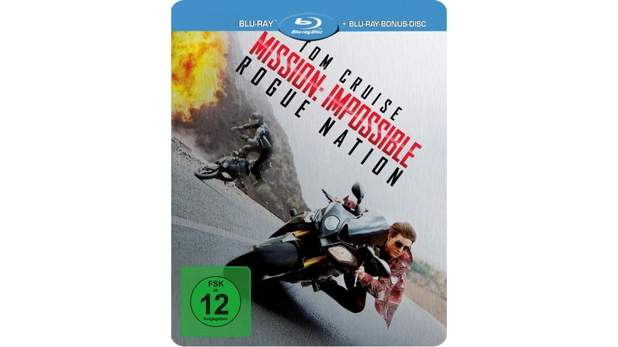Mission Impossible Rogue Nation exklusives Mueller Steelbook Blu ray Disc