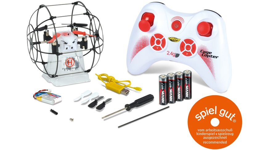 Carson Quadcopter RC CAGE COPTER