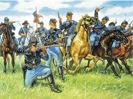 Italeri 6013 Figuren 1 72 Vereinte Kavallerie 1863