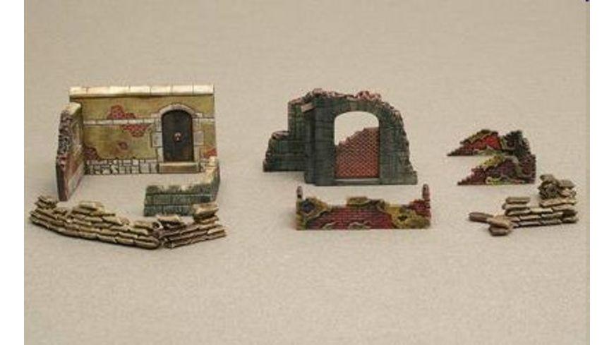 Italeri 6090 Diorama 1 72 Mauern und Ruinen Ii