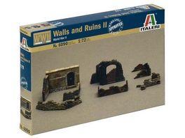 Italeri 1 72 Mauern und Ruinen Ii