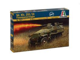 Italeri 1 72 Sd Kfz 251 16 Flammpanzerwagen