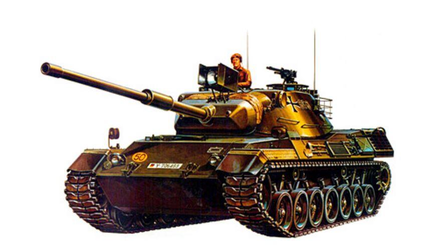 Tamiya 300035064 Militaer 1 35 Bundeswehr Kpz Leopard 1