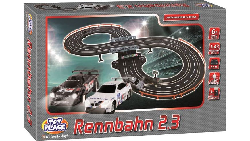 Mueller Toy Place Rennbahn 2 3