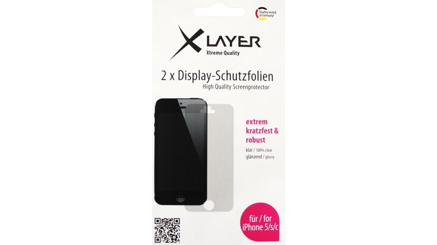iPhone 5 Displayschutzfolie