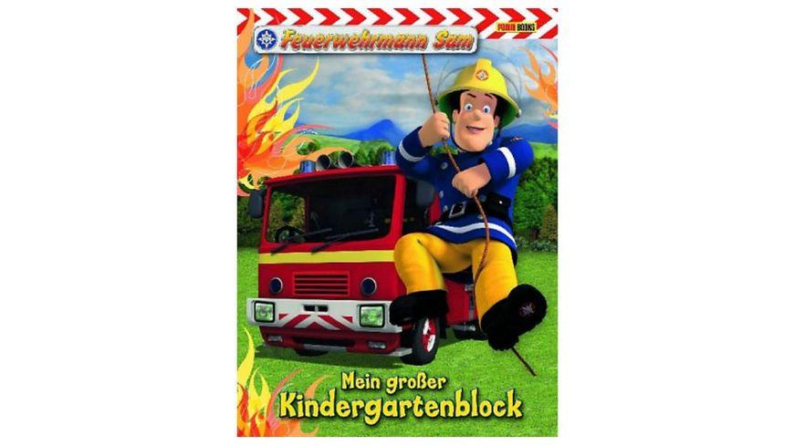Buch Panini Feuerwehrmann Sam Kindergartenblock