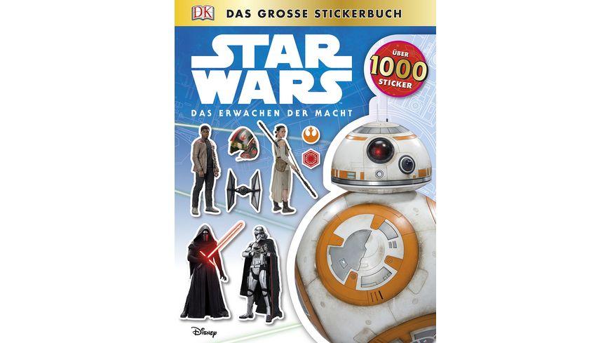Buch Dorling Kindersley Verlag Star Wars Das Erwachen der Macht Das grosse Stickerbuch