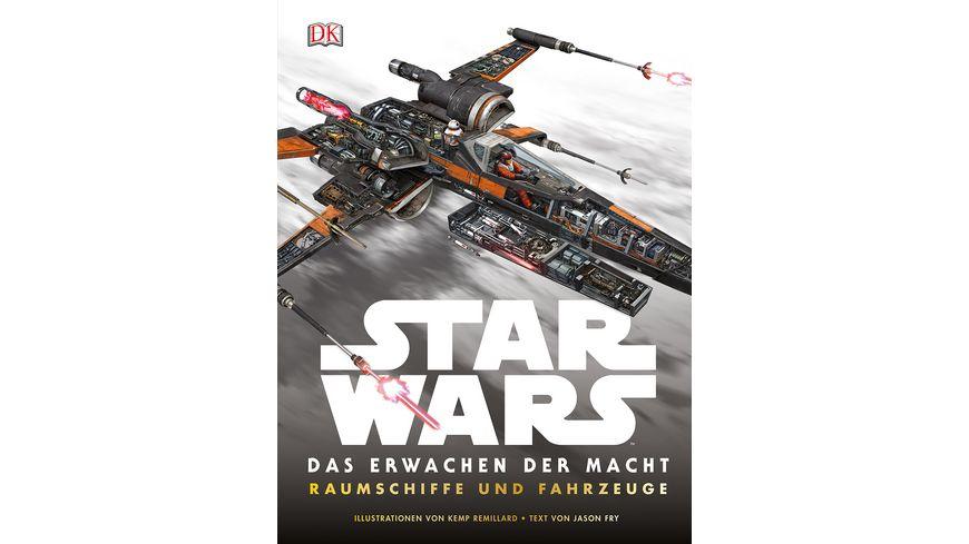 Buch Dorling Kindersley Verlag Star Wars Das Erwachen der Macht Raumschiffe und Fahrzeuge
