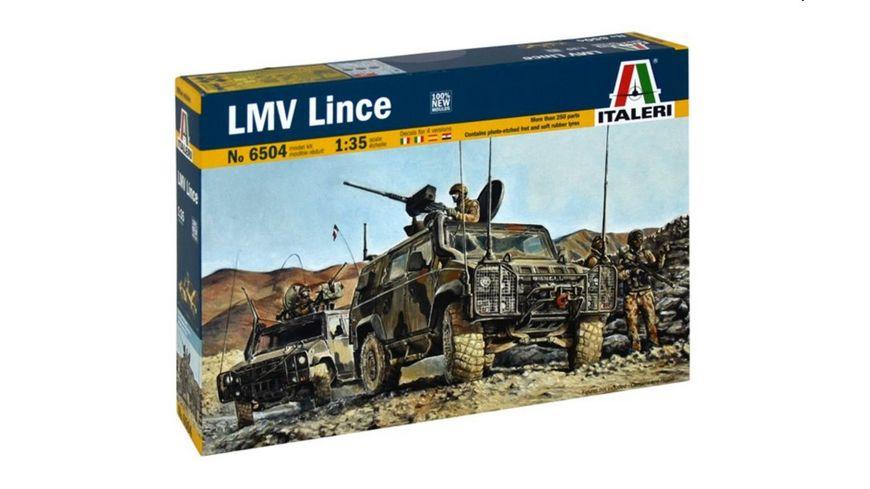Italeri 1 35 4x4 IVECO Lince Military Vehicle