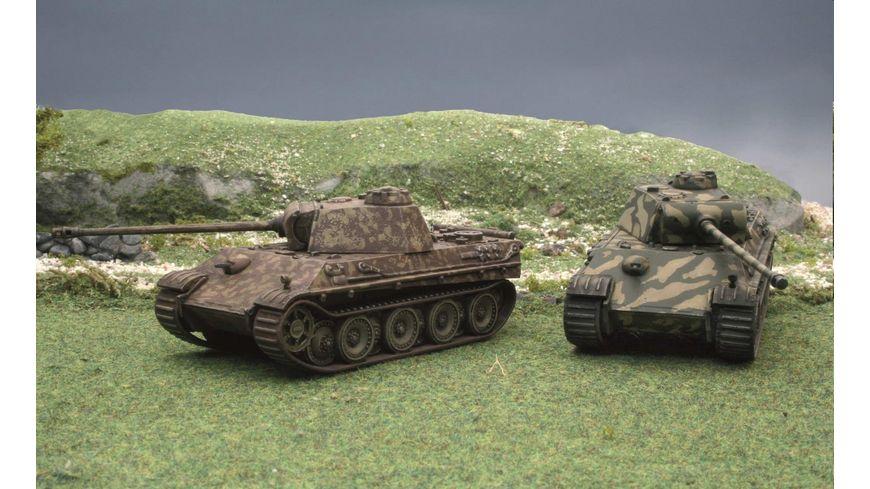Italeri 7504 Schnellbausatz Militaerfahrzeuge 1 72 Pz Kpfw V Panther