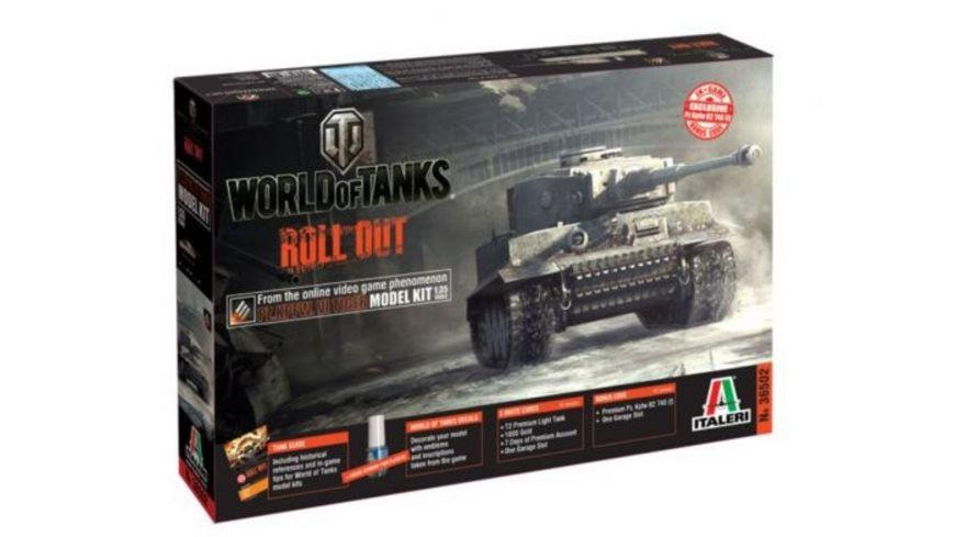 Italeri 36502 World of Tanks 1 35 Pz Kpfw VI TIGER WoT