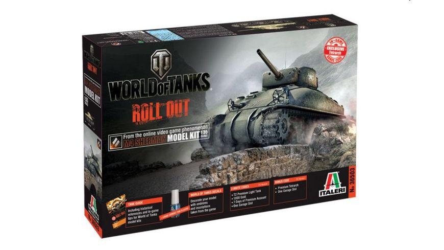 Italeri US M4 Sherman WoT