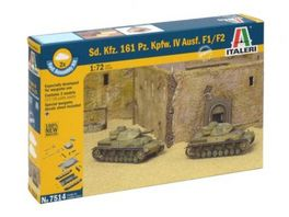 Italeri 1 72 SdKfz 161 PzKpfw IV F1 Fast As Kit