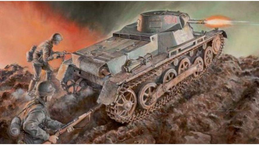 Italeri 6523 Militaerfahrzeuge 1 35 WWII Deu PzKpfw Panzer I Ausf B