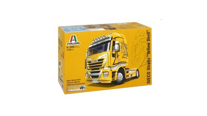 Italeri 3898 Trucks 1 24 IVECO STRALIS YELLOW DEVIL