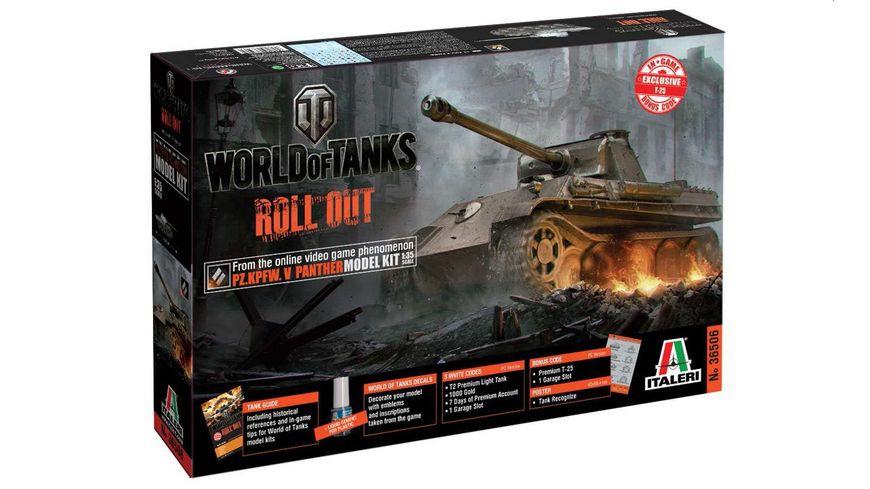 Italeri 36506 World of Tanks 1 35 PANTHER Ausf G
