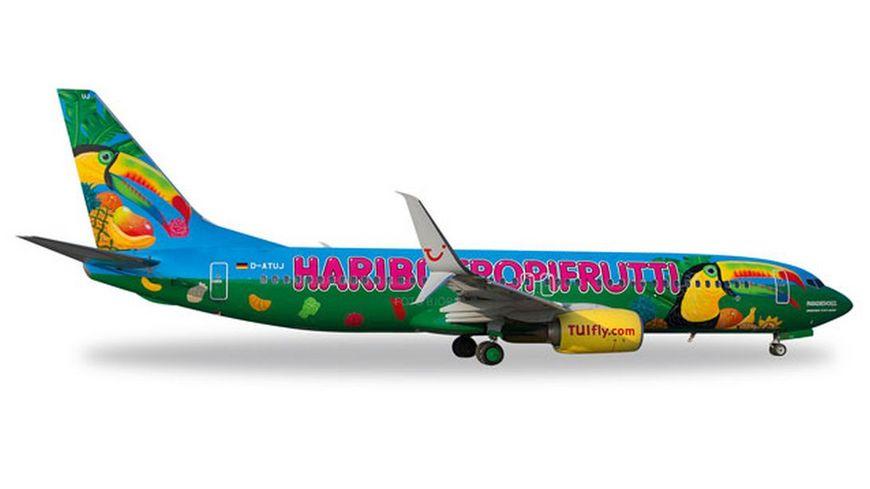 Herpa 528191 Wings TUIfly Boeing 737 800 Haribo Tropifrutti