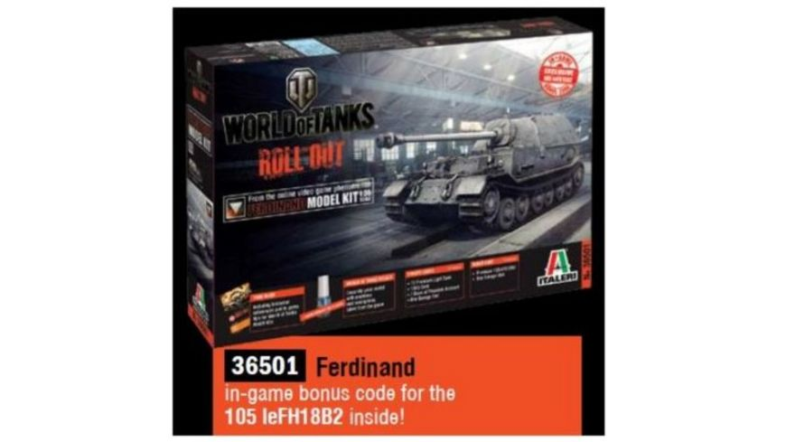 Italeri 1 35 Panzerjaeger Ferdinand WoT