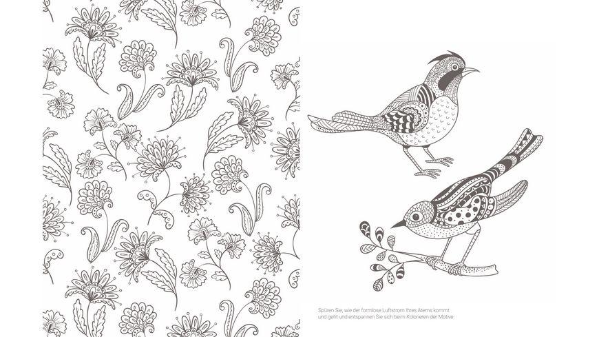 Inspiration Happy Zen 50 froehliche Motive und Ornamente kolorieren