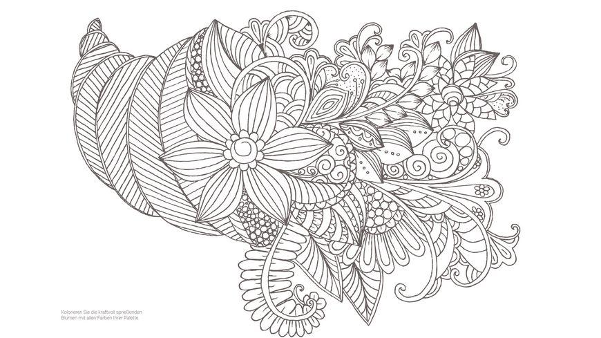 Inspiration Garten Eden 50 Naturmotive kolorieren