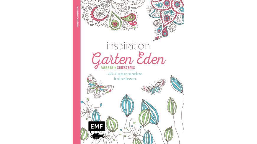 Inspiration Garten Eden Ausmalbuch fuer Erwachsene