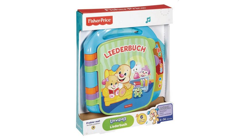 Fisher Price Lernspass Liederbuch