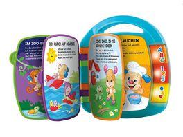Fisher Price Lernspass Liederbuch blau Baby Spielzeug mit Musik Lernspielzeug