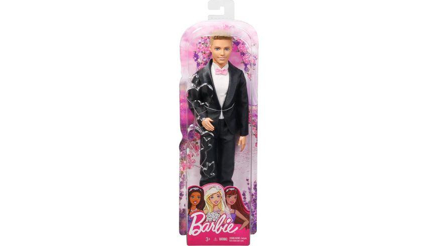 Barbie Ken Bräutigam Puppe (blond), Anziehpuppe, Modepuppe, Barbie Hochzeit