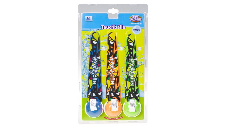 Mueller Toy Place Tauchbaelle 3 Stueck