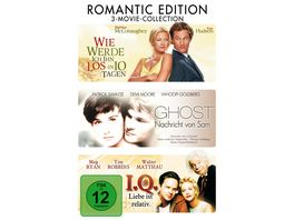 3 Movie Collection Romantic Edition DVD