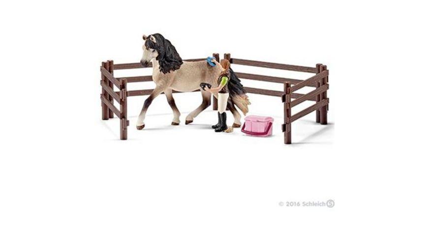 Schleich Horse Club Pferdepflegeset Andalusier