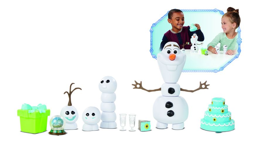 Hasbro Disney Die Eiskoenigin Party Fieber Olaf