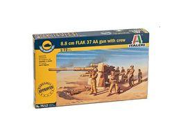Italeri 7512 1 72 Fliegerabwehrkanone 37 AA 8 8cm