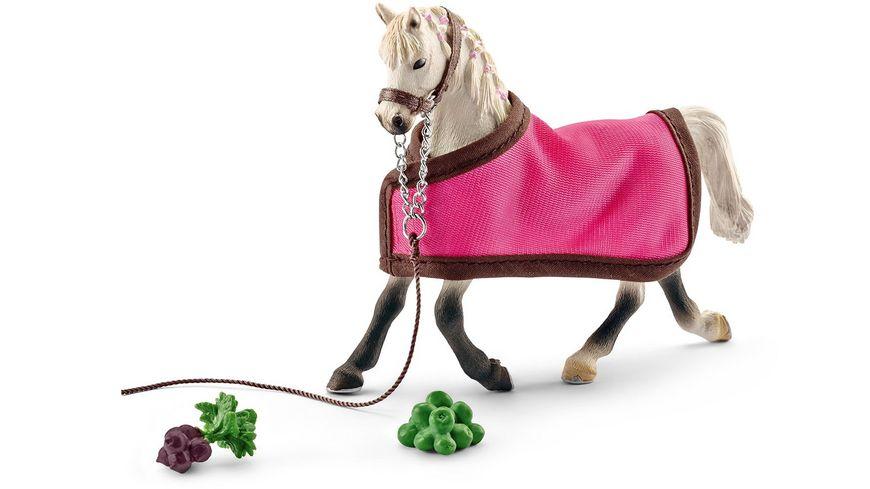 schleich horse club pferde araber stute mit decke. Black Bedroom Furniture Sets. Home Design Ideas
