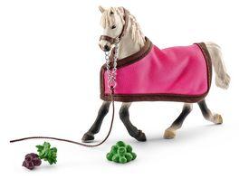 Schleich 41447 Horse Club Pferde Araber Stute mit Decke