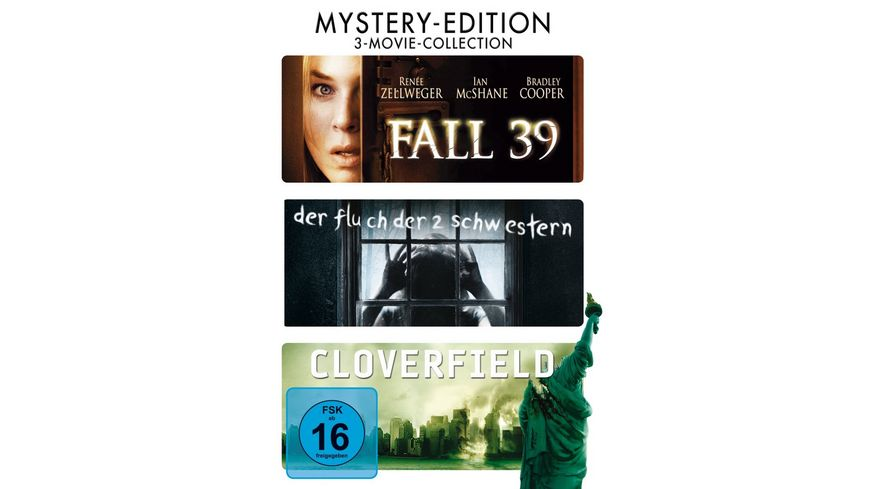 3 Movie Collection Mystery Edition DVD