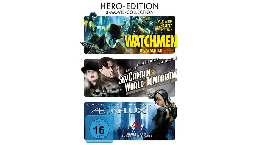 3 Movie Collection Hero Edition DVD