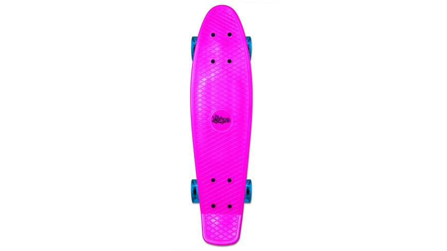 Authentic NoRules Skateboard fun pink