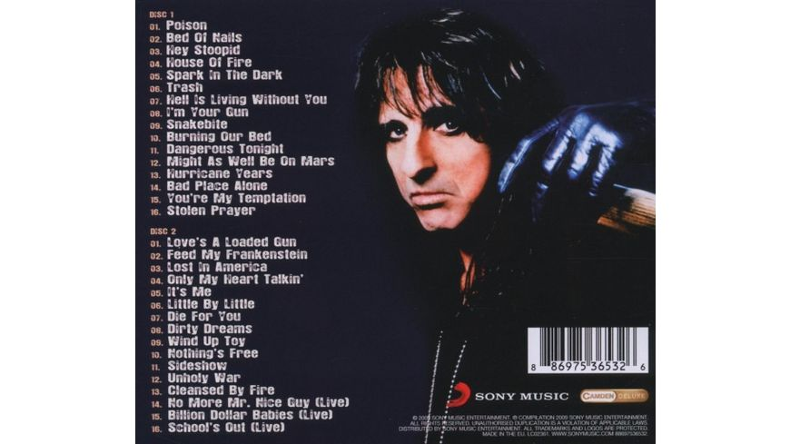 Spark In The Dark The Best Of Alice Cooper