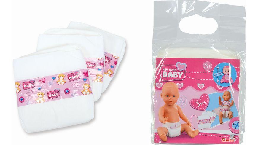Simba New Born Baby 3 Windeln