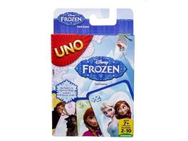 Mattel Games Disney Frozen UNO Frozen Kartenspiel