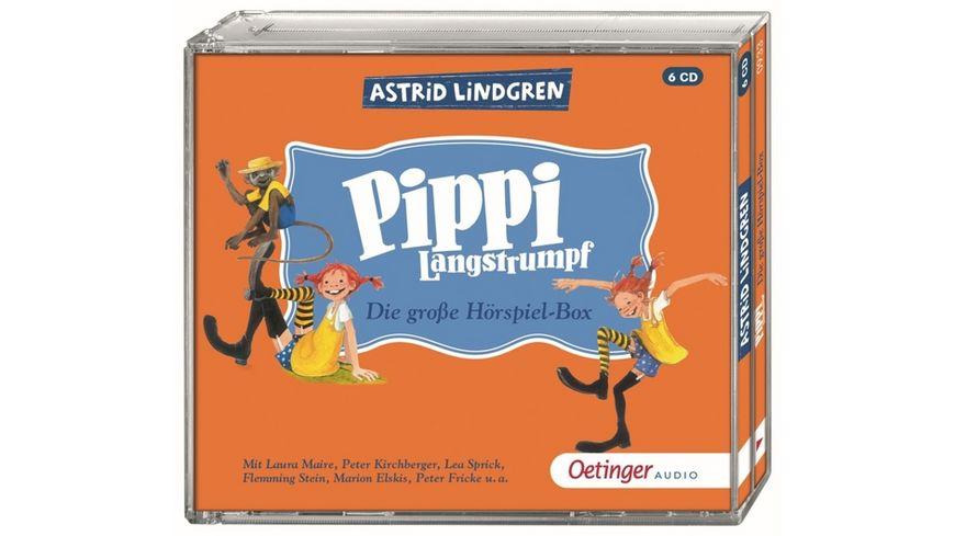 Pippi Langstrumpf Die grosse Hoerspielbox