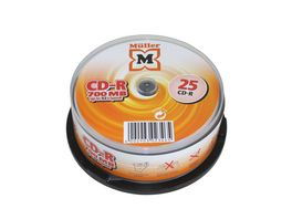 Mueller CD R 700MB 25er Box