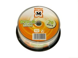 Mueller DVD R 4 7GB 20er Box