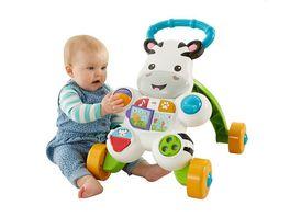 Fisher Price Lern mit mir Zebra Lauflernwagen Baby Lauflernhilfe Laufwagen