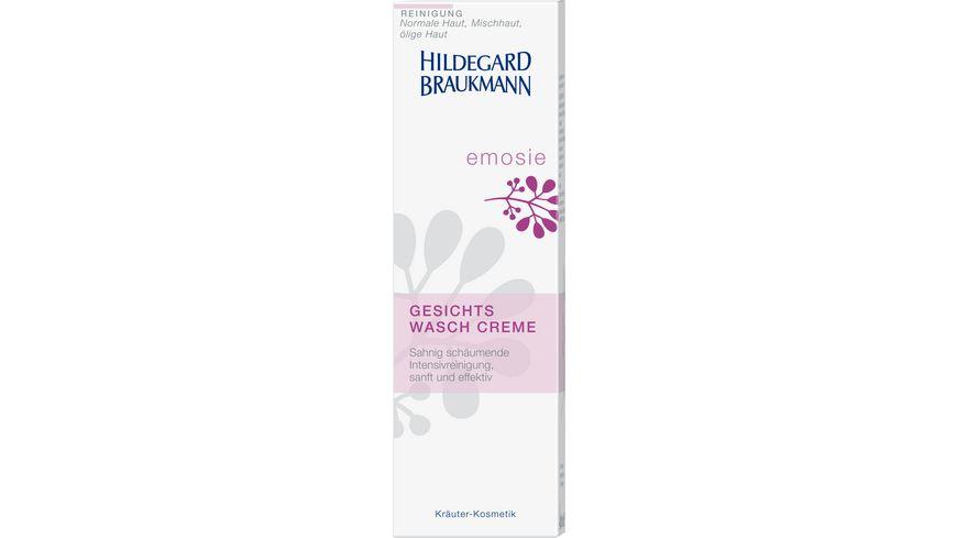 HILDEGARD BRAUKMANN emosie Gesichts Wasch Creme