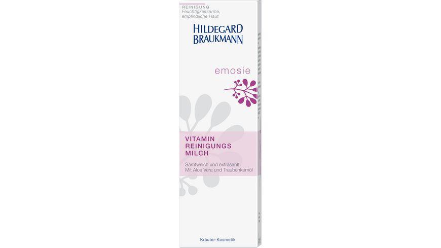 HILDEGARD BRAUKMANN emosie Vitamin Reinigungsmilch