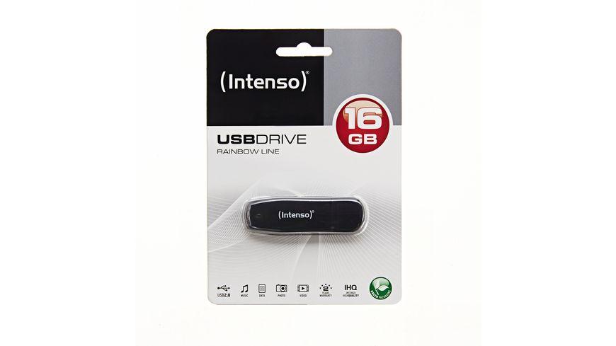 Intenso USB Stick 16GB Rainbow Line