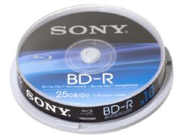 Sony Blu ray Disc 25GB 10er Spindel