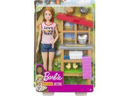 Mattel Barbie Ich waere gern Puppe und Spielset Sortiment